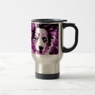 Purple Haze Maggie 15 Oz Stainless Steel Travel Mug