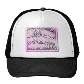 Purple  Haze Maze Trucker Hat