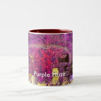 Purple Haze. Two-Tone Mug
