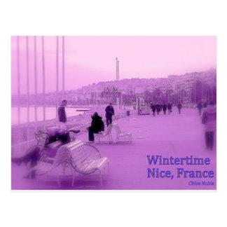 Purple Haze - Nice France Postcard