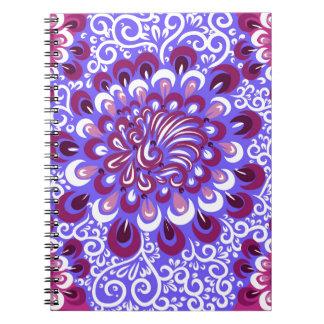 Purple haze notebook