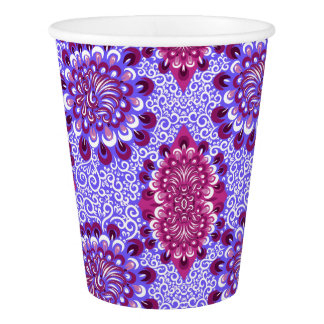 Purple haze paper cup