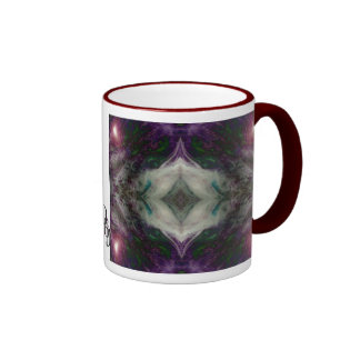 Purple Haze Ringer Mug
