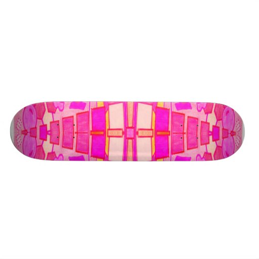 Purple Haze Custom Skate Board