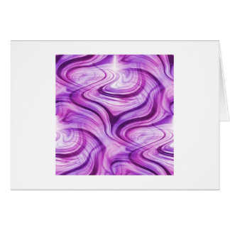Purple Haze Squiggles Greeting Cards