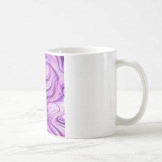 Purple Haze Squiggles Classic White Coffee Mug