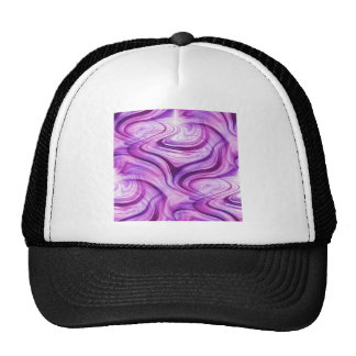 Purple Haze Squiggles Trucker Hat