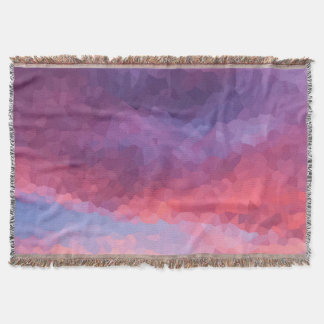 Purple Haze Throw Blanket