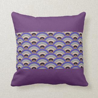 Purple Haze Trippy Throw Pillow Home Decor Trendy