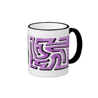 Purple HazeMaze Ringer Mug