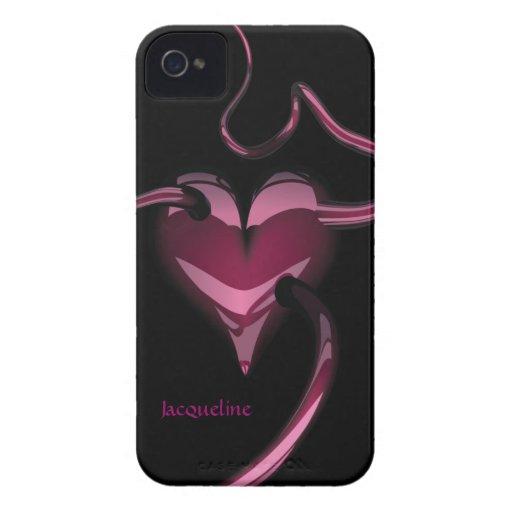 Purple Heart Blackberry Bold Case-Mate Case