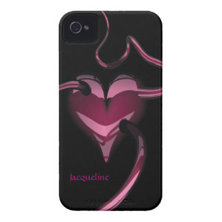 Purple Heart Blackberry Bold Case-Mate Case Case-Mate iPhone 4 Cases