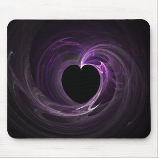 Purple Heart Fractal Mousepad