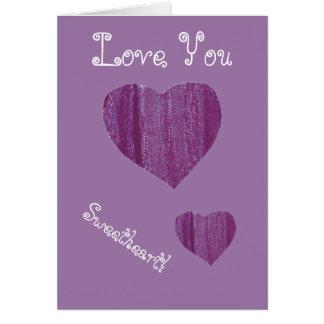 purple-heart-love-card card
