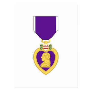 Purple Heart Medal Postcard