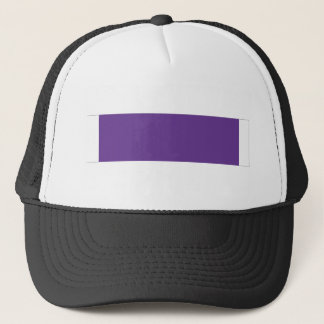 Purple Heart Ribbon Trucker Hat