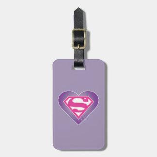 Purple Heart S-Shield Bag Tag