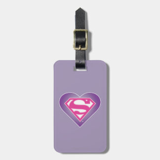 Purple Heart S-Shield Tag For Luggage
