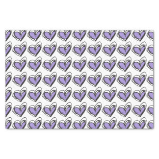 Purple Heart Tissue Paper — Trendy & Elegant