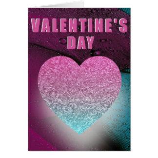 Purple Heart Valentine's Day Card