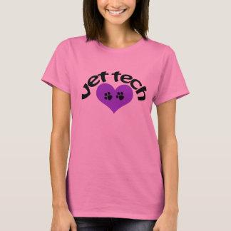 Purple heart vet tech tee