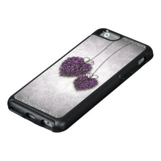 Purple Hearts OtterBox iPhone 6 Case