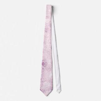 Purple hearts Valentine's day tie