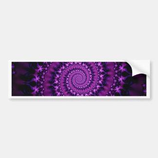 purple helix created by Tutti Bumper Sticker