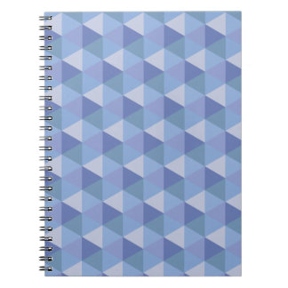 Purple Hexagons Notebook
