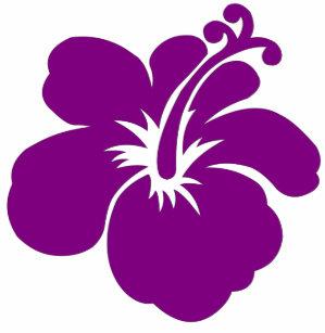 Purple Hibiscus Aloha Flower Baby Tops T Shirts Zazzleca