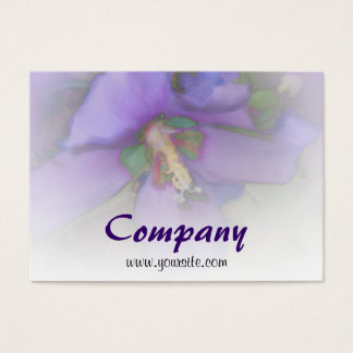 Purple Hibiscus Business Card