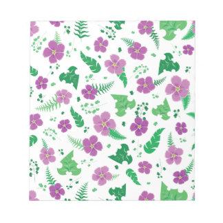 Purple Hibiscus Notepad