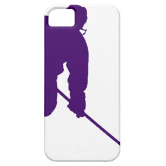 PURPLE HOCKEY PLAYER iPhone 5 CASES