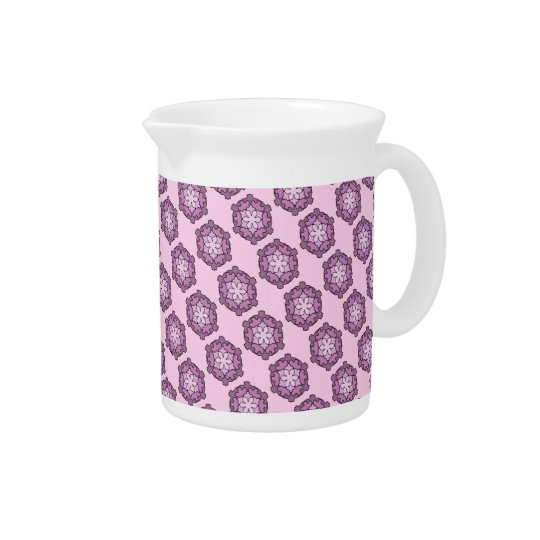 Purple Honeycomb Pitcher