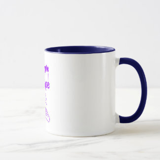 Purple Hope mug