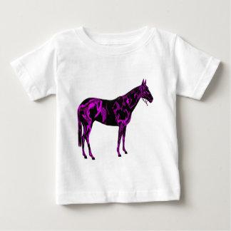 Purple Horse Art Baby T-Shirt