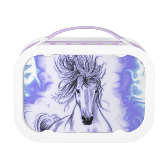 Purple Horse Lunchboxes