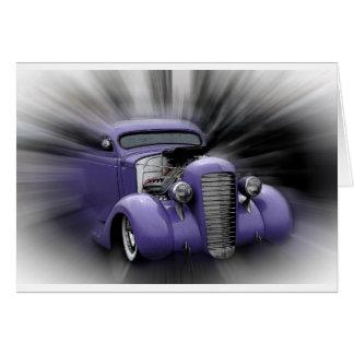 Purple Hot Rod Card