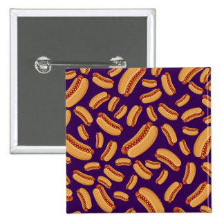 Purple hotdogs pins