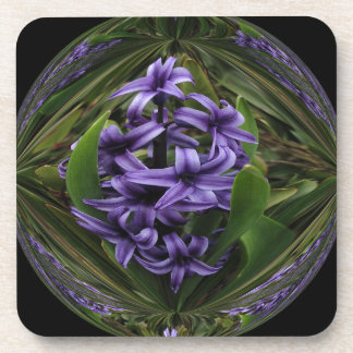 Purple Hyacinth Candy Coaster