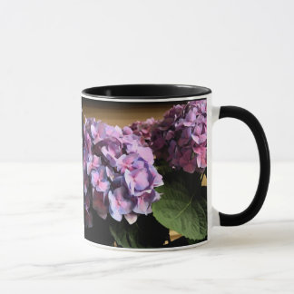 Purple Hydrangea Done Tai Chi today? lefty Mug