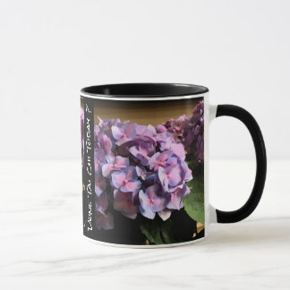 Purple Hydrangea Done Tai Chi today? Righty Mug