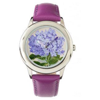 Purple Hydrangea Floral Watch