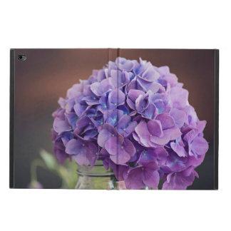 Purple Hydrangea in a Mason Jar Photograph Powis iPad Air 2 Case