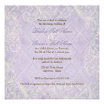 Purple Hydrangea Swirl - Bridal Shower Invitation