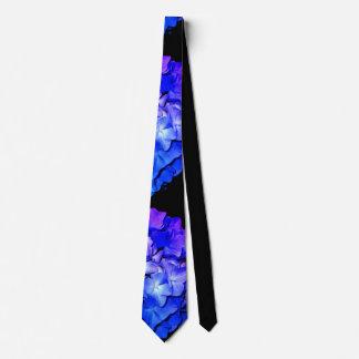 Purple Hydrangea Tie