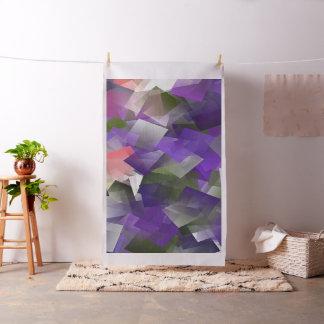 Purple ice cubes.. fabric