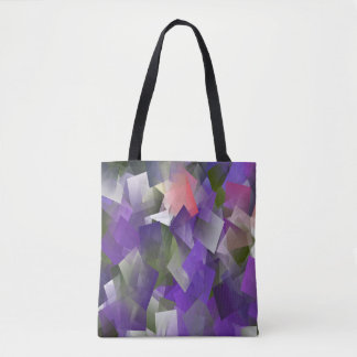 Purple ice cubes.. tote bag