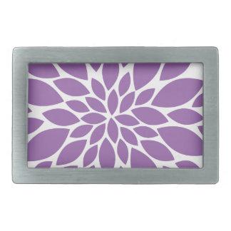 Purple In Bloom Belt Buckle