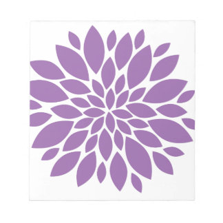 Purple In Bloom Notepads